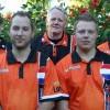 Noppert, Veenstra en Hofstra in team 4 Nations Tournament
