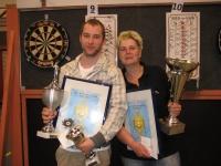 Danny Noppert en Jacqueline Draaisma ranking kampioenen