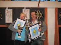 Friese kampioenen Mieke de Jong en Rick Hofstra 2011-2012